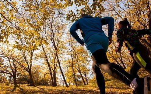 秋季是辣妈们健身最好时机,并且好处多